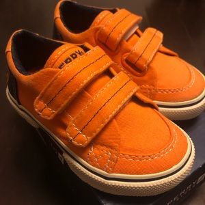 Sperry Top Sider toddler Sneaker shoes sz 6.5 new